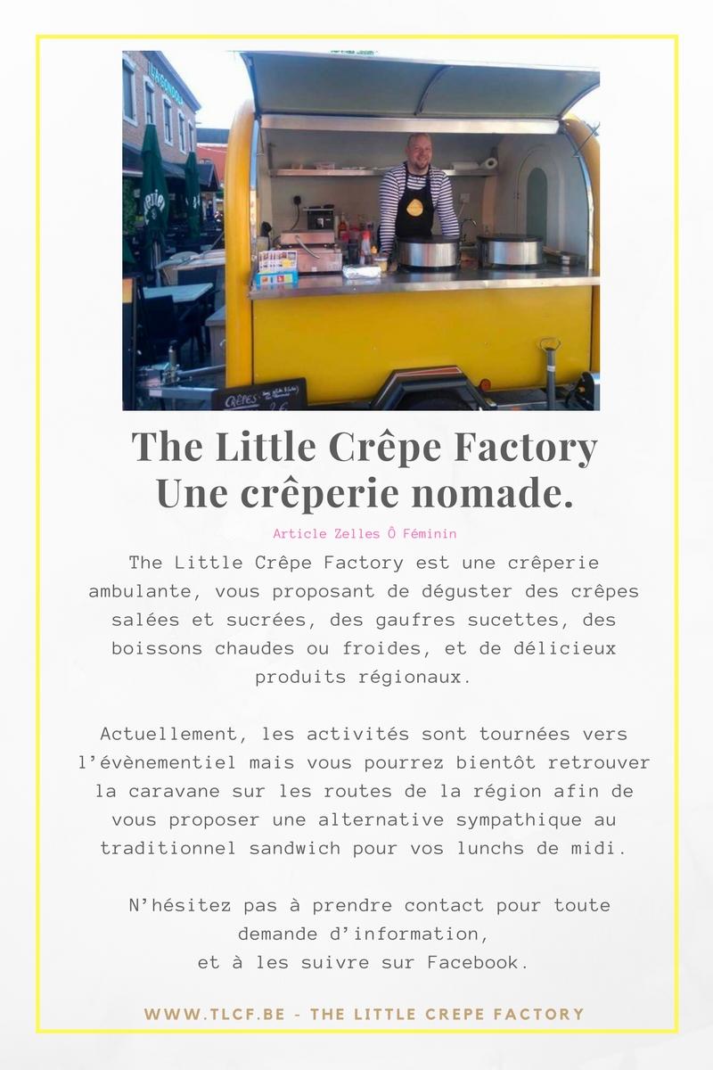 The Little Crêpe FactoryUne crêperie nomade