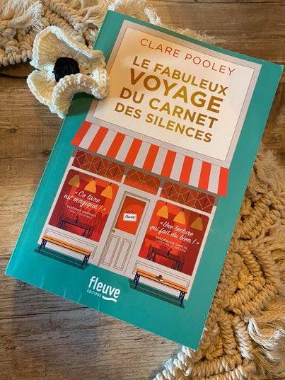 Livre | Le fabuleux voyage du carnet des silences | Clare Pooley