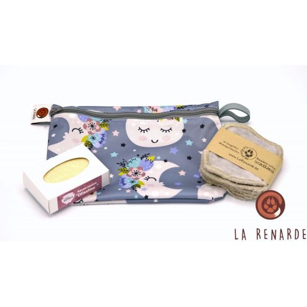 Idée cadeau pour maman | Le pack lingettes et savon La Renarde.