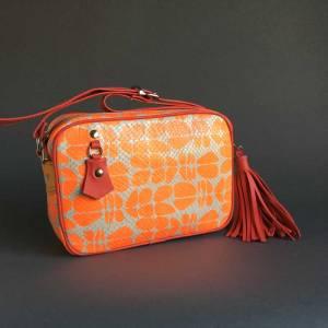 Unikatna usnjena ženska torbica Zelolepo