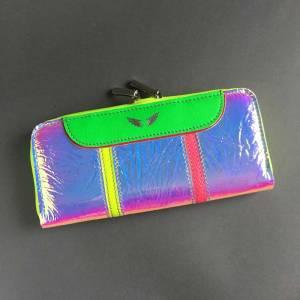 Unique Big Stripe wallet Zelolepo