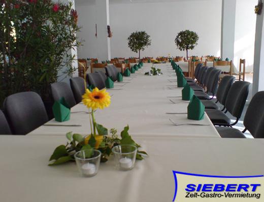 Bestuhlung  Deko  Verleih in Chemnitz Sachsen
