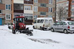 Пришла зима в Зельву