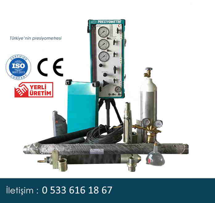 Turkish made pressuremeter equipment
