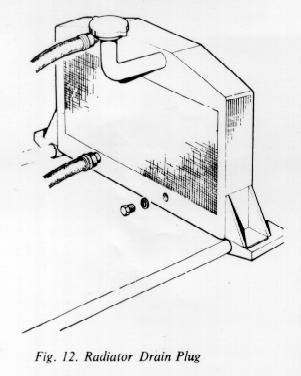 TVR Vixen Workshop Manual: Cooling System