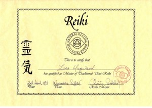 Reiki Master Degree 600