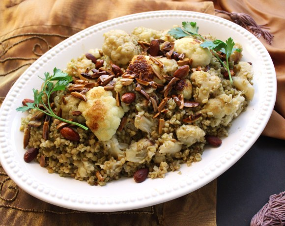5-Ingredient Arabic Cauliflower Freekeh