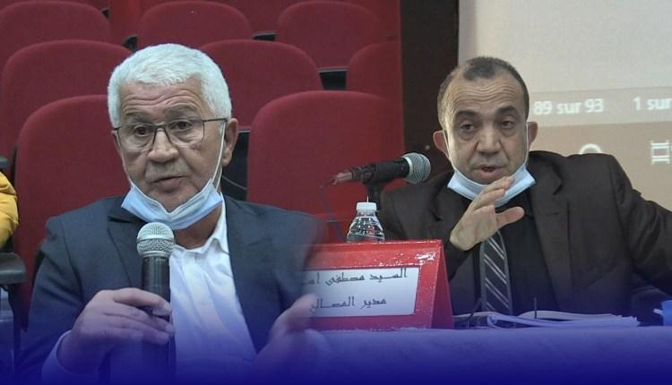 رئيس المجلس السابق لعين حرودة يحرج مدير المصالح لجماعة