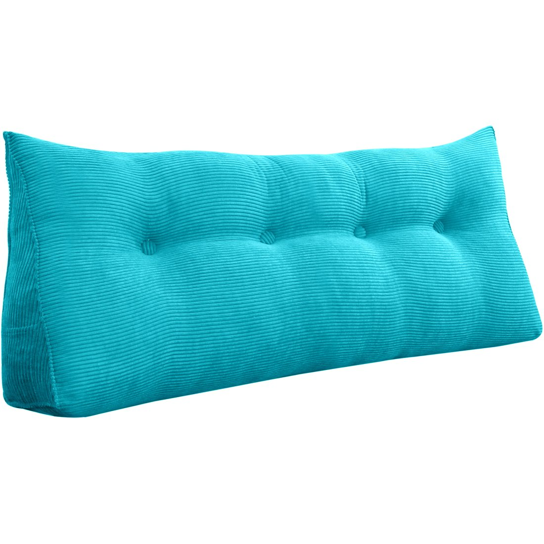 triangular reading pillow large bolster