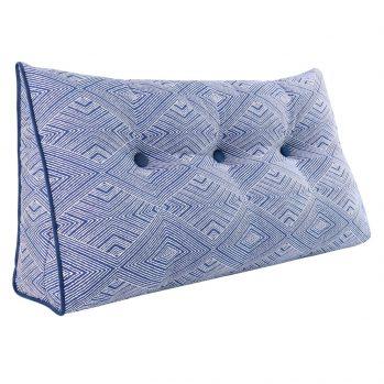 large bolster cushion triangualr wedge