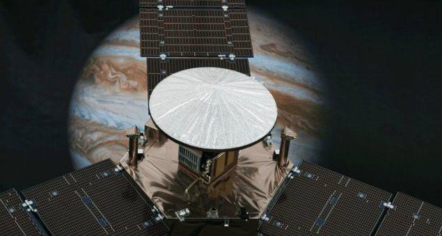 Juno, prima foto da Giove
