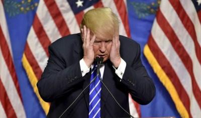 Trumph, l'imbarazzante candidato repubblicano