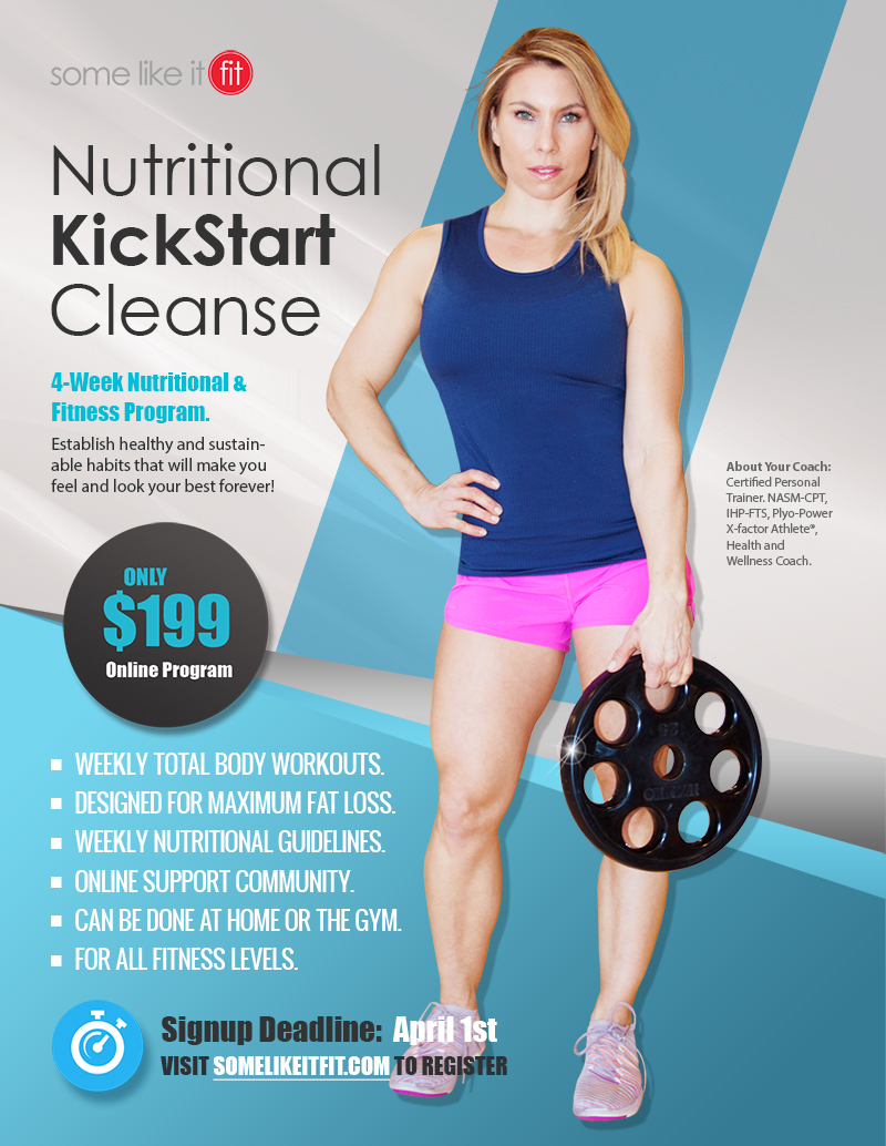2017 spring cleanse and cut program