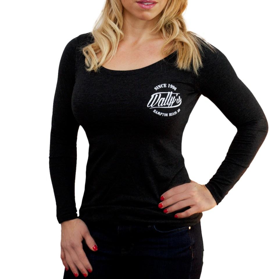 wallys_womens-longsleeve-t-shirt_front