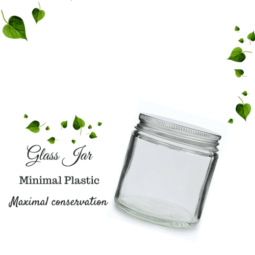 Clear Glass jar 120ml