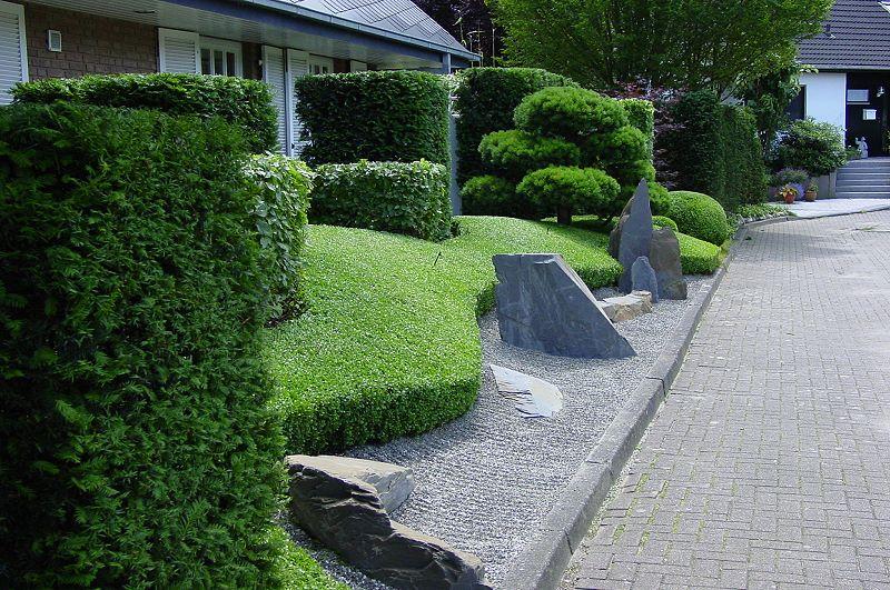 vorgarten japanischer stil - boisholz,
