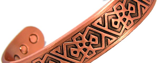 Copper Magnetic Bangle