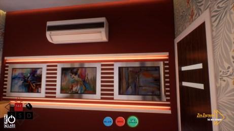 Interactive Virtual Tour - Wall Colour Selection