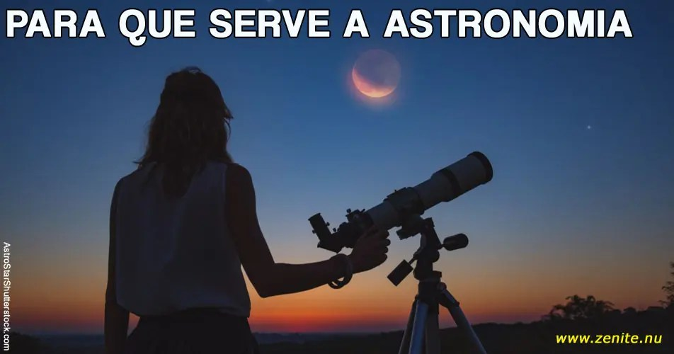 Para que serve a Astronomia