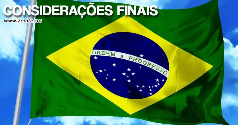 Bandeira do Brasil: considerações finais