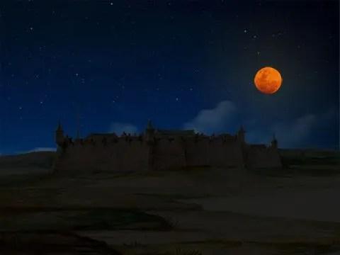 Eclipse lunar de 1642 em Natal