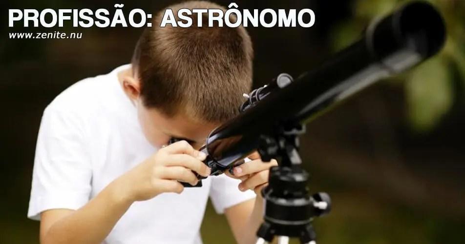 Profissão astrônomo