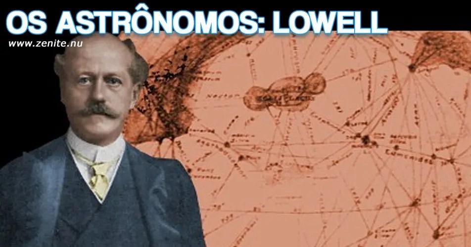 Os astrônomos: Percival Lowell
