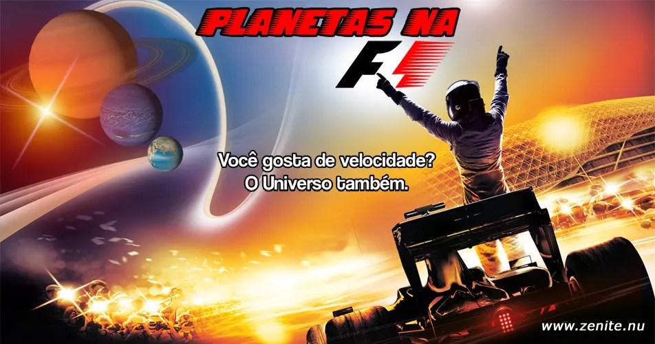 Planetas na Fórmula 1