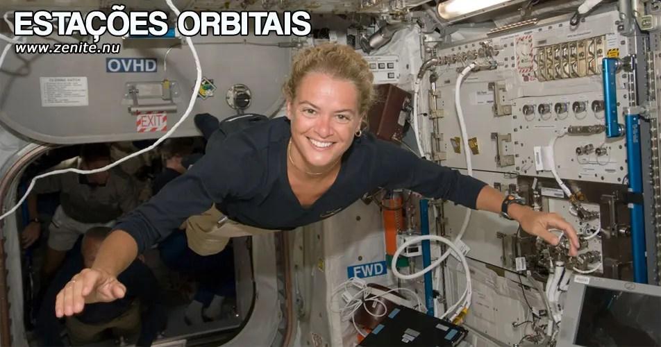 Estações orbitais