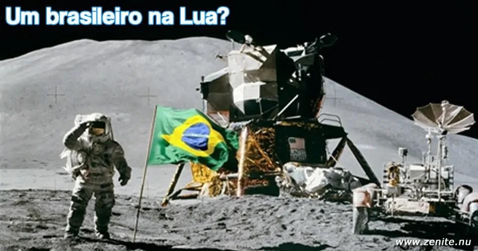 Um brasileiro na Lua