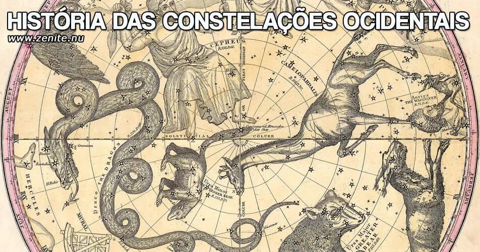História das constelações ocidentais