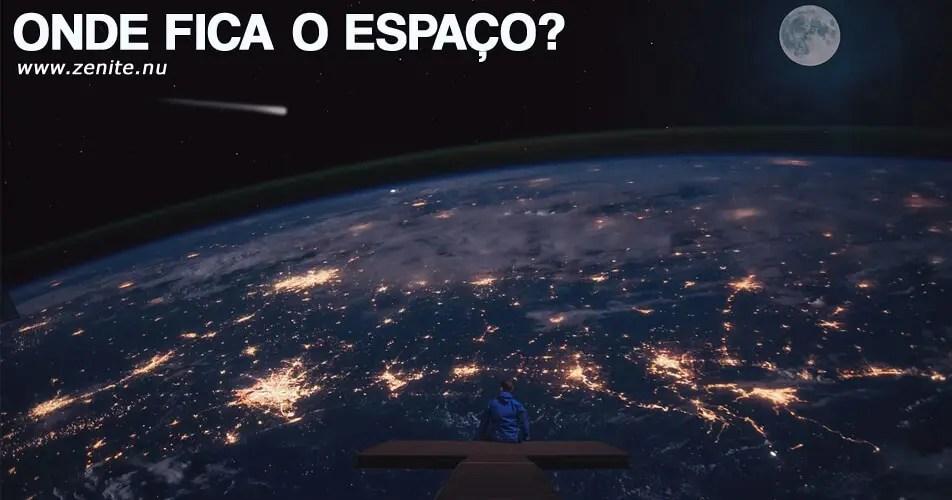 Onde fica o espaço