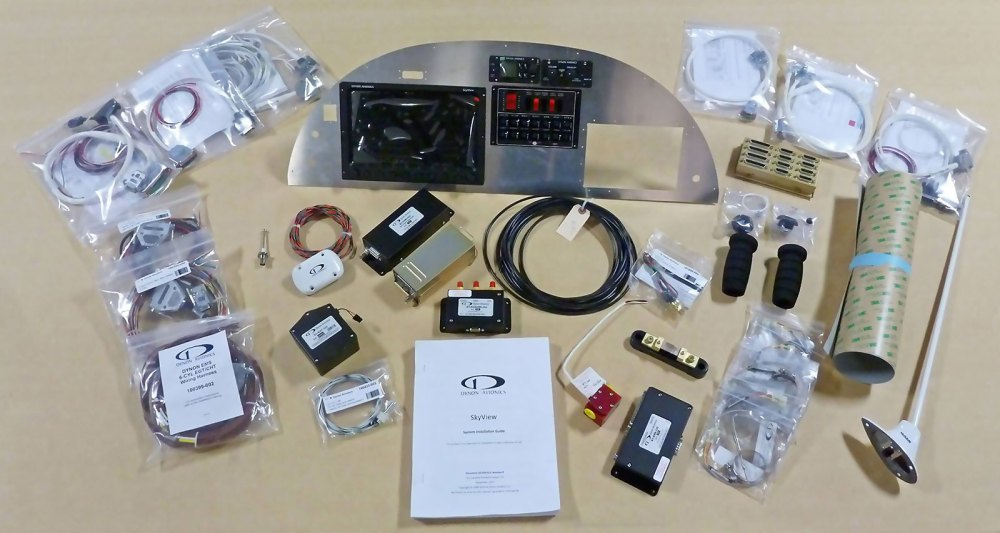 medium resolution of zenith ch 750 custom instrument panel kit