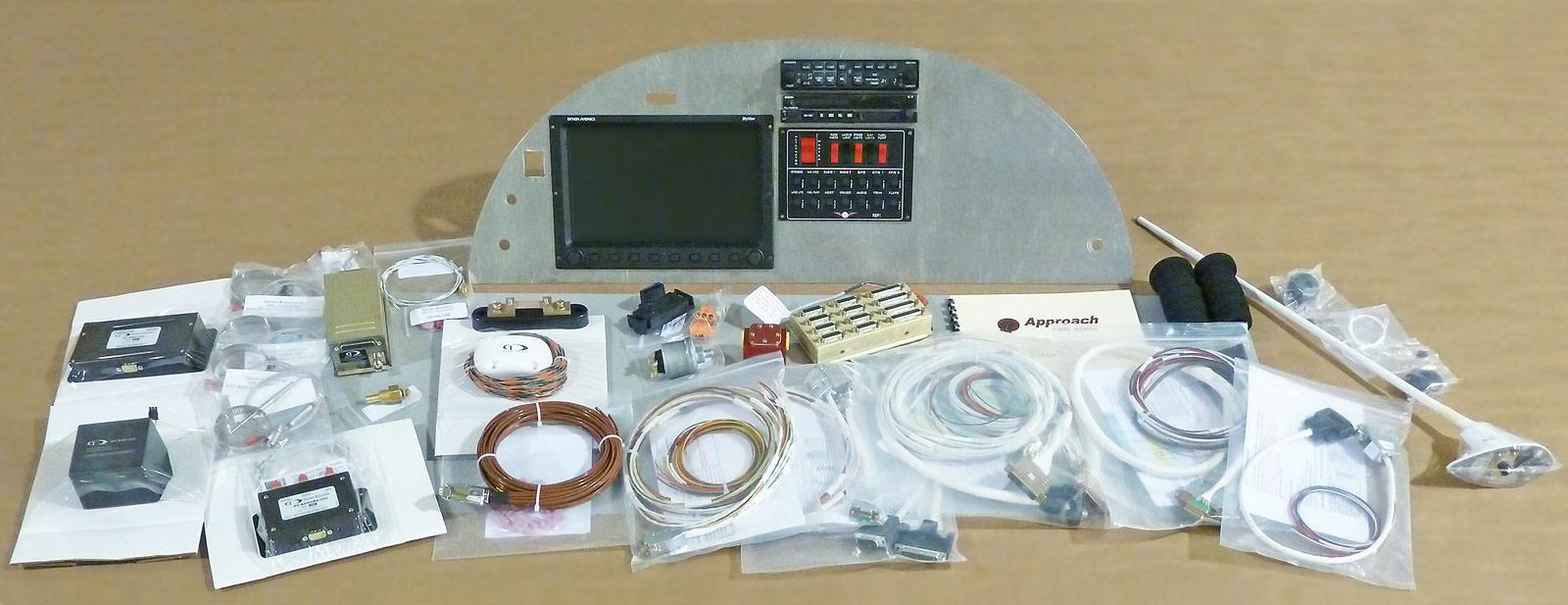 hight resolution of stol ch 750 custom instrument panel kit