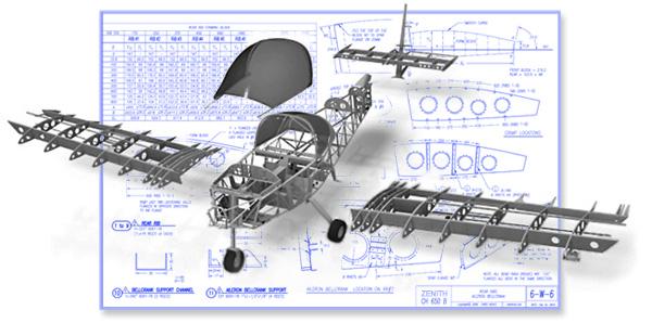 ZODIAC XL  Drawings  Manuals  Blueprints  Kit Plane