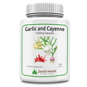 Garlic and Cayenne Capsules