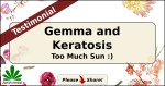 Gemma and Keratosis