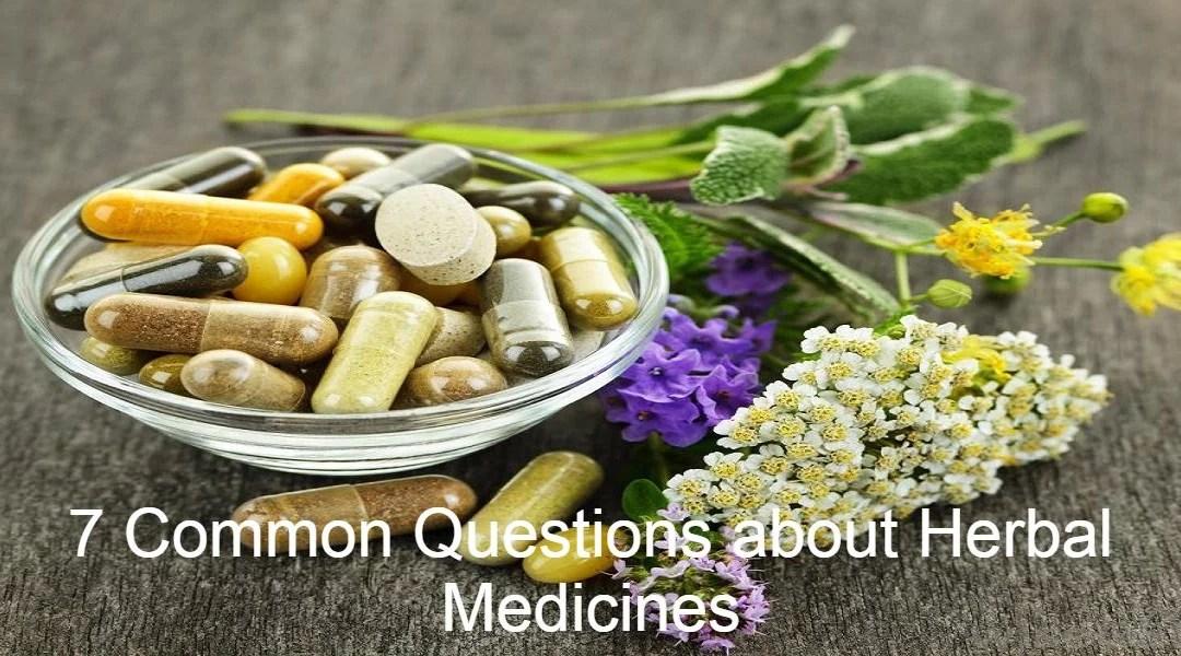 different herbal medicines