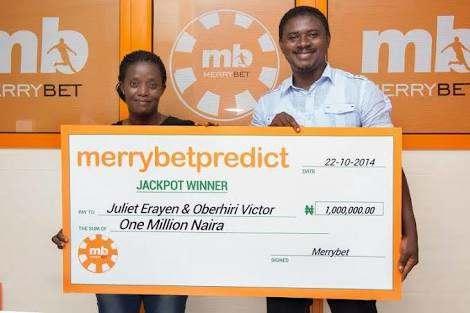 Merrybet 1 million winning tips