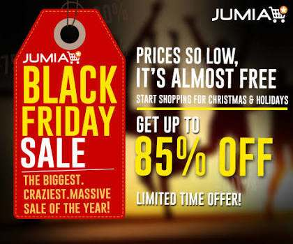 Jumia black Friday Online shopping sale