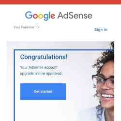 Create an Adsense Account