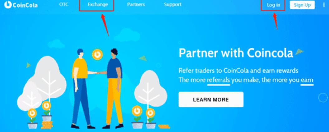 Coincola Bitcoin Exchange
