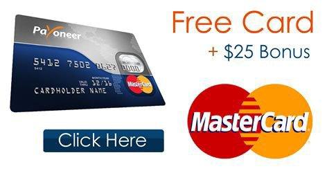 sign up for payoneer mastercard