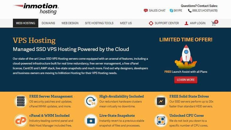 Inmotion hosting hosting