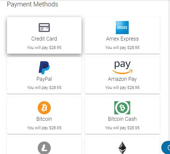 Egifter payment checkout