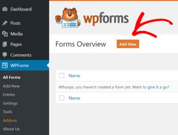 WordPress Free Forms Builder