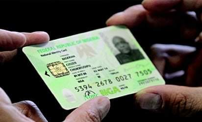 National identity card fees
