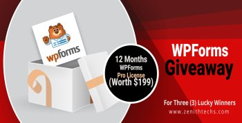 WPForms Giveaway for wordpress