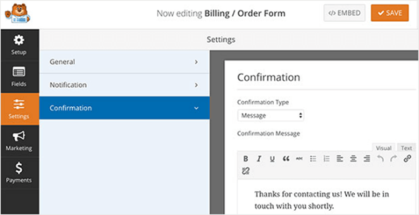 Configure & Create Forms For Free.