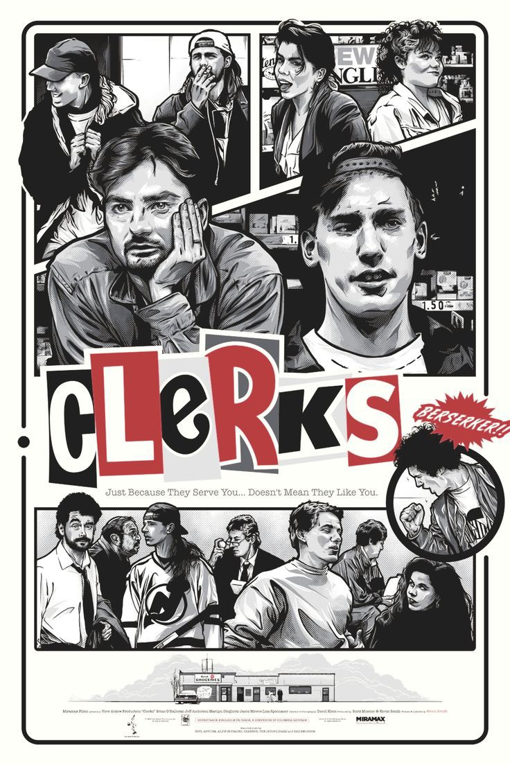 Clerks (1994) | 90's Comedy Movies